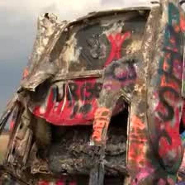 Cadillac Ranch Arson