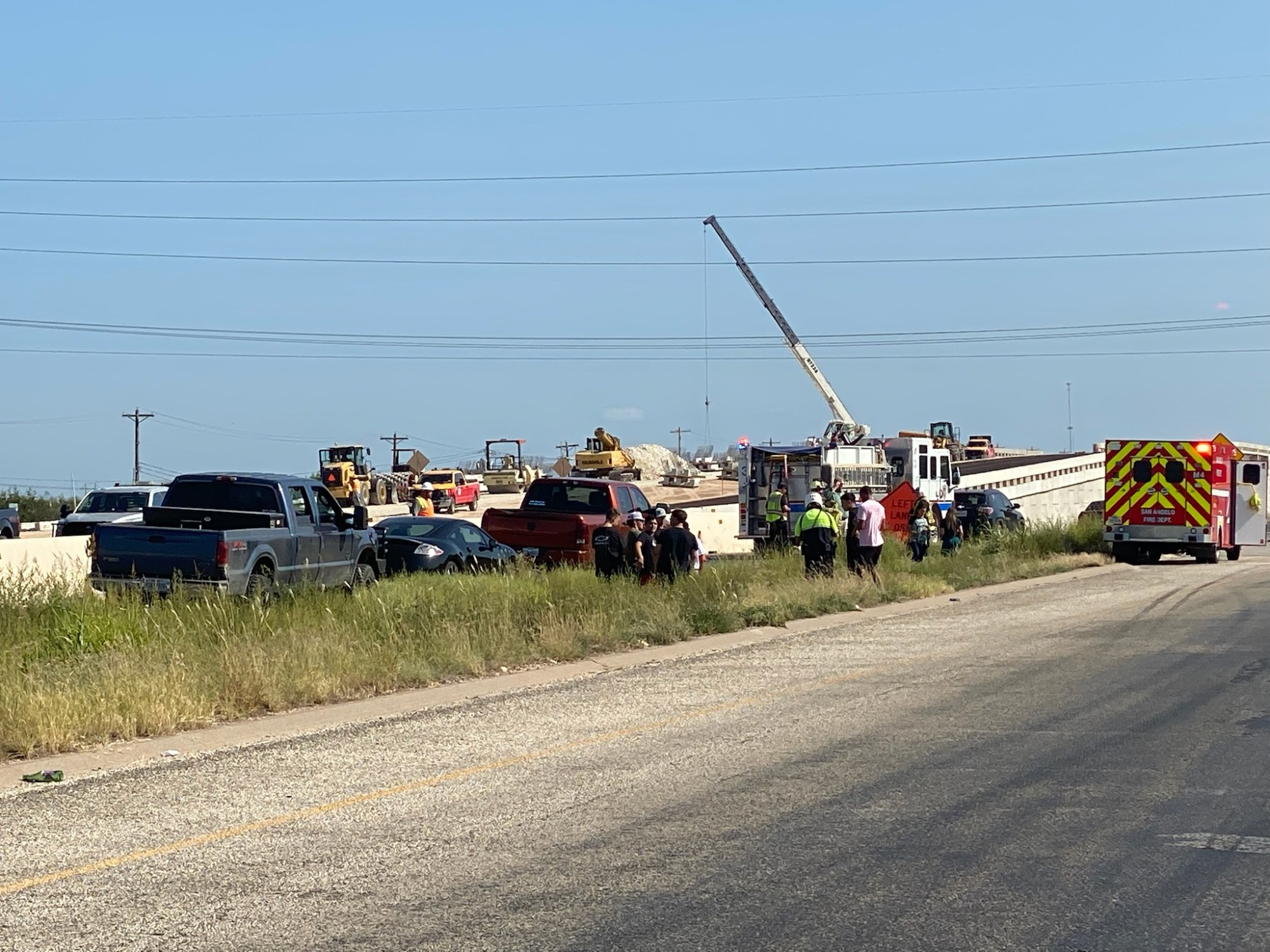 Multi-vehicle crash on US 67