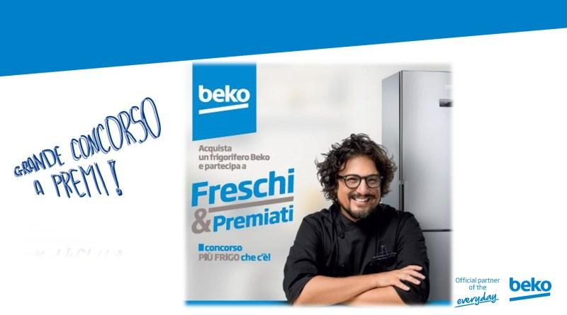 Beko Freschi e premiati, il concorso più frigo che c'è