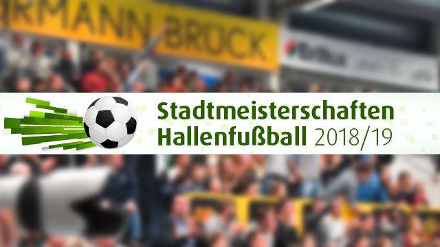 Endrunde bei den Hallenstadtmeisterschaften Münster 2018