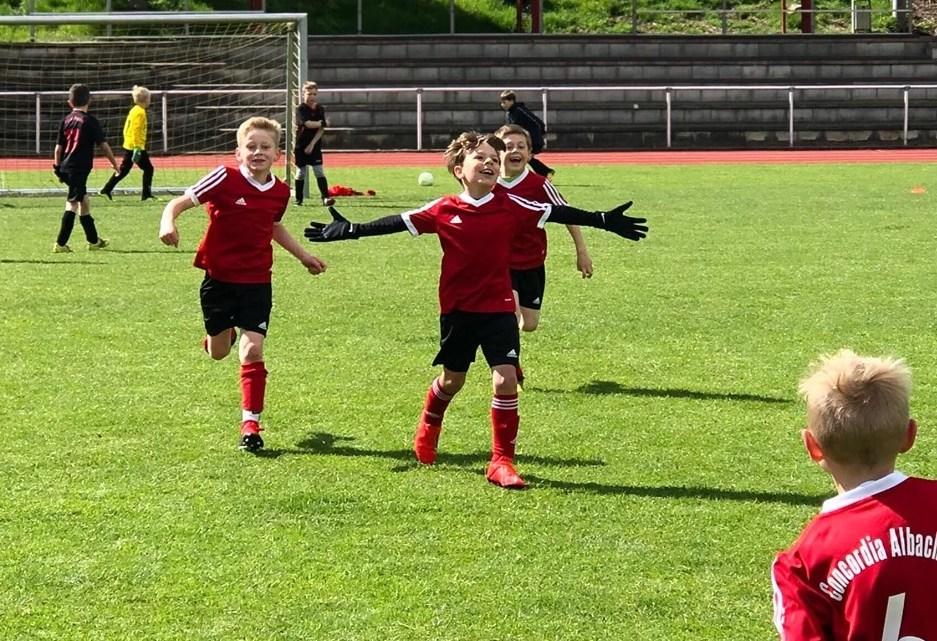 U8-1 gewinnt spannendes Derby gegen Roxel nach 0:2-Rückstand