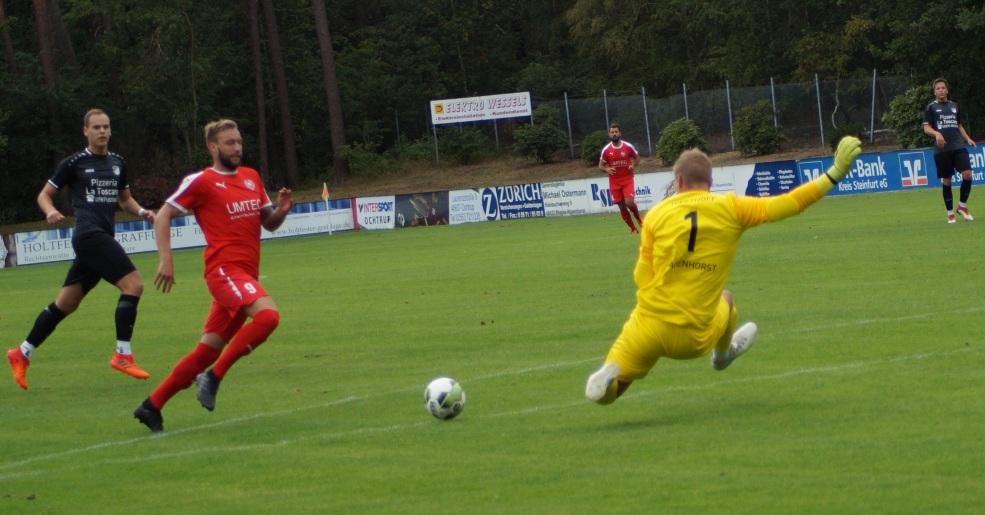 2:2 zum Auftakt und bei der Premiere für die Concordia in der Bezirksliga
