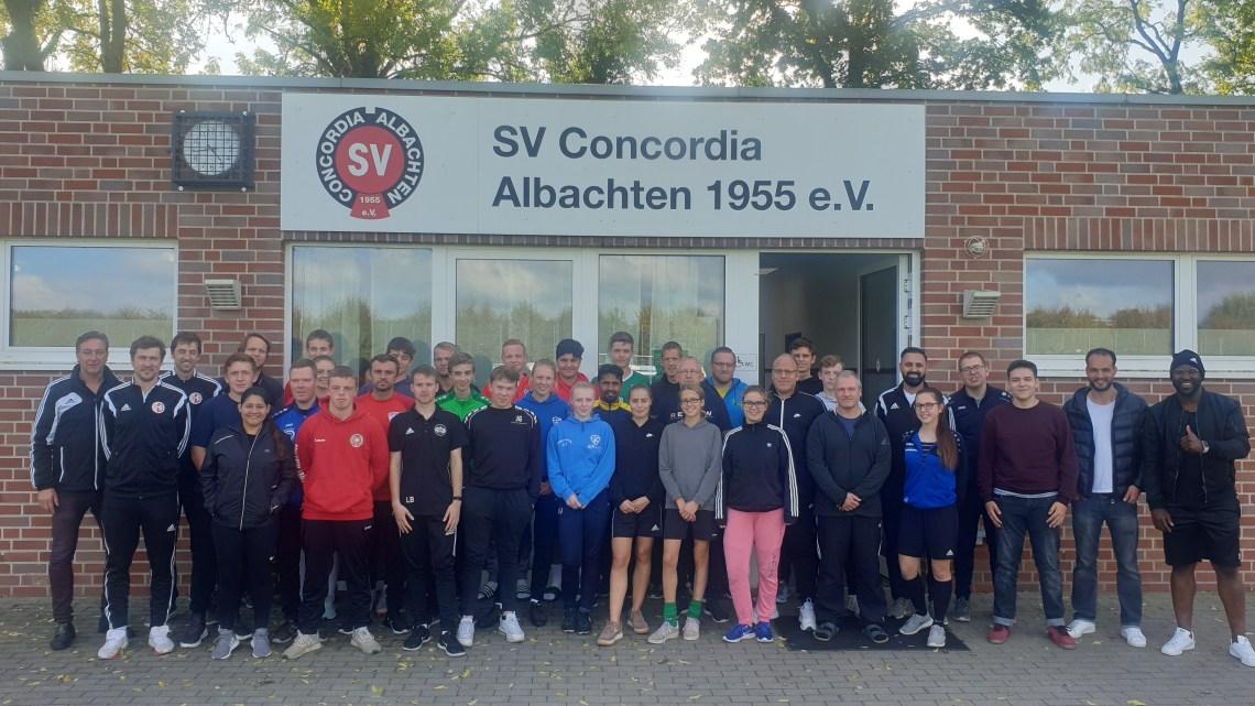 C-Lizenz Trainerausbildung bei Concordia Albachten