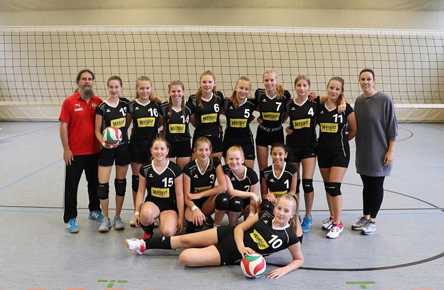U18-Volleyballerinnen der  Concordia starten in die Saison