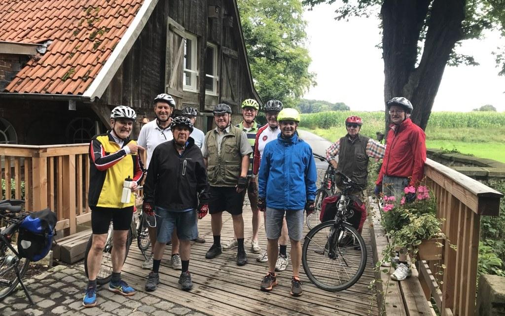 Radtour Ende Juli 2020 nach Warendorf