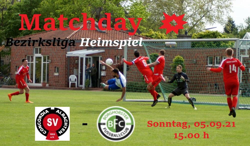 Erstes Heimspiel der Bezirksligasaison