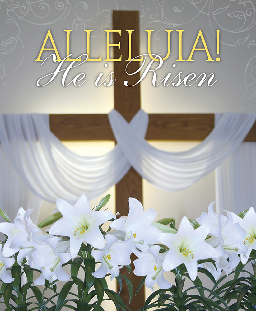 Easter Sunday Bulletin Covers Unique