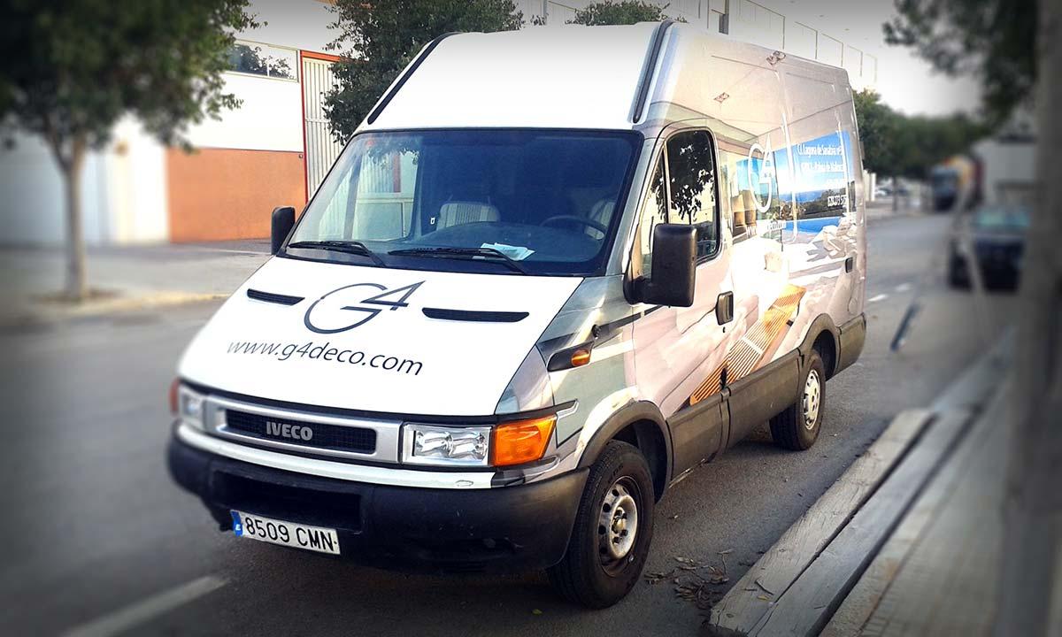 Rotulación integral furgoneta (2