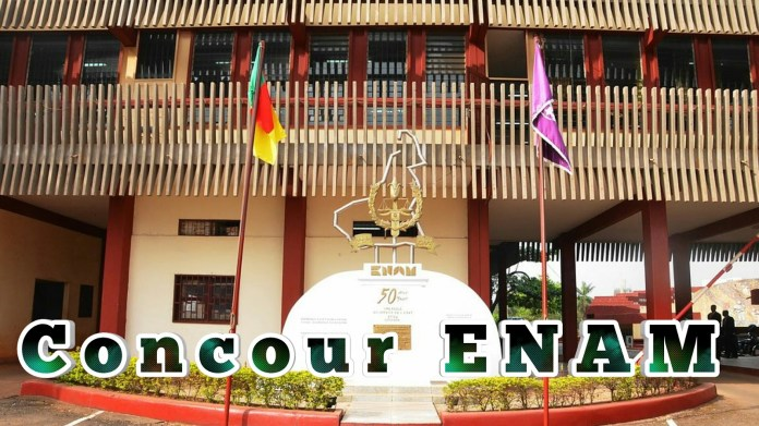 Concours ENAM 2019 Cameroon: cycle A Financial Division recruitment 40 students