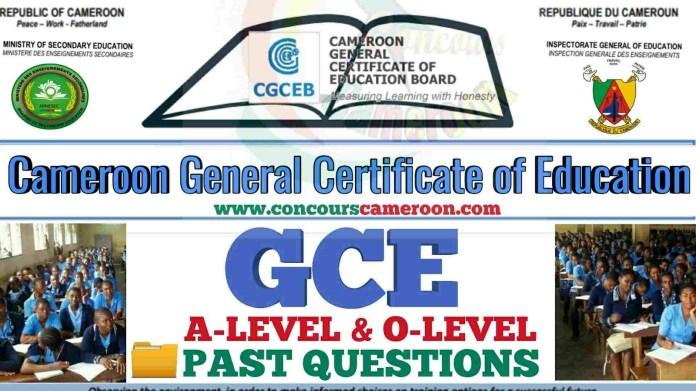 GCE Cameroon