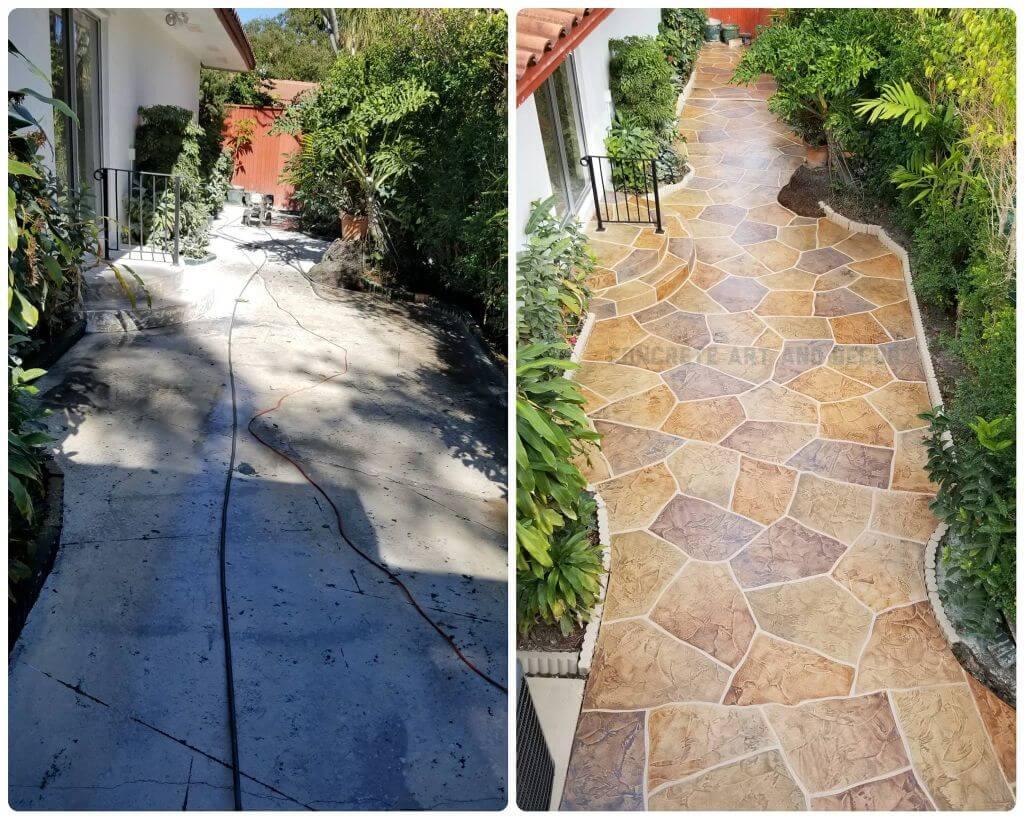 concrete resurfacing save money
