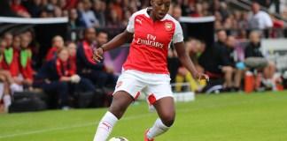 Danielle Carter of Arsenal Ladies. Photo: joshjdss, Wikipedia