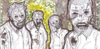 The Walking Dead Illustration. Ana Dukakis for Concrete