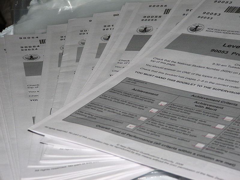 Coursework. Photo: Nzgabriel, Wikimedia