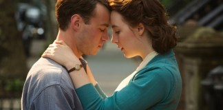 Saoirse Ronan shines in emotional film, Brooklyn.
