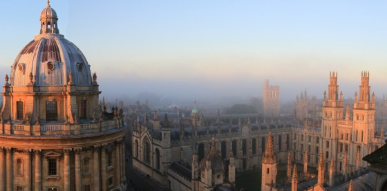 Past and present: the two faces of Oxford