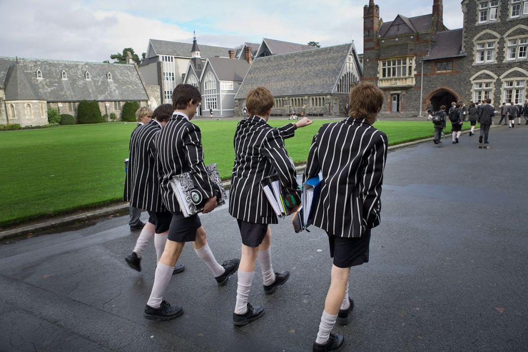 Private school. Photo: Wikimedia, Jorge Royan