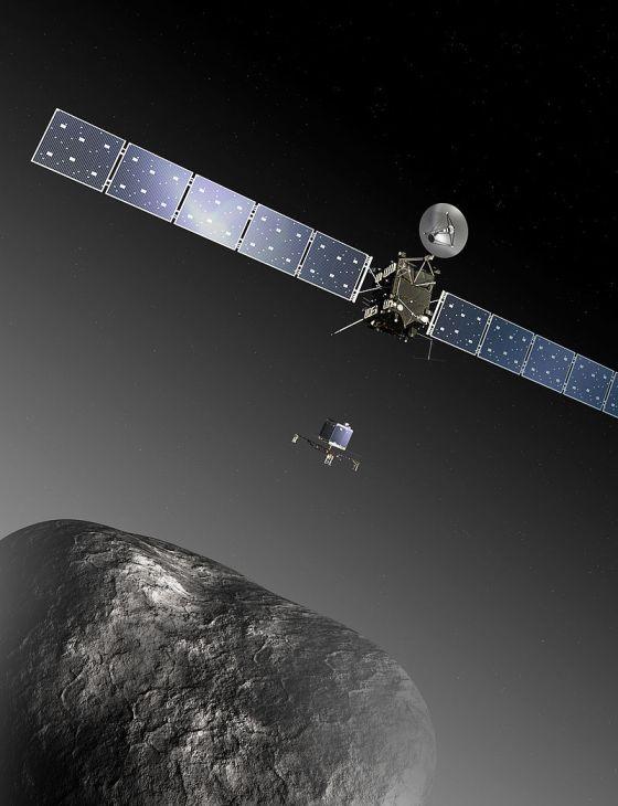 Earth bids Rosetta a final farewell