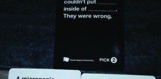 Cards Against Humanity, Image credit: Wikimedia Commons