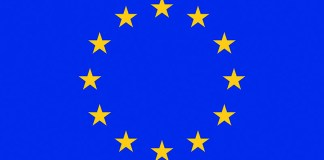 EU Applications - EU Flag, Photo: Wikimedia, Council of Europe