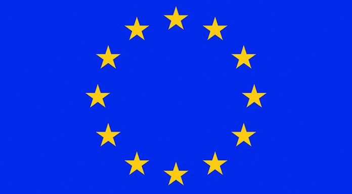 EU Applications - EU Flag, Photo: Wikimedia, Council of Europe