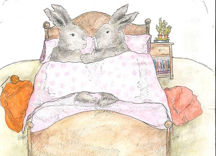 editorial cartoon, illustrated by Emily Mildren