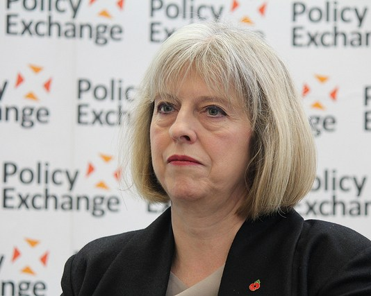 Prime Minister Theresa May - Policy Exchange, Flickr