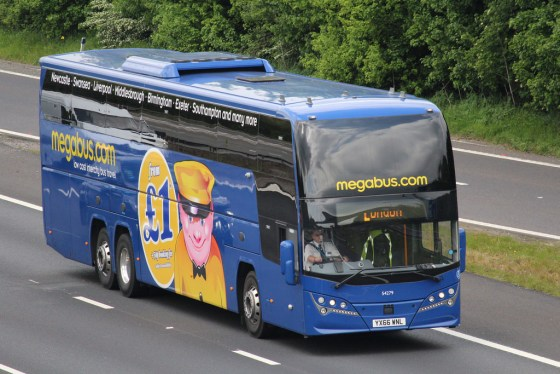 UEA-Birmingham Megabus relaunched