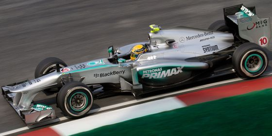 Hamilton sets the pace at Barcelona