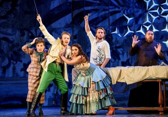 "Glyndebourne's Il Barbieri Di Siviglia is ""a parade of human emotions"""