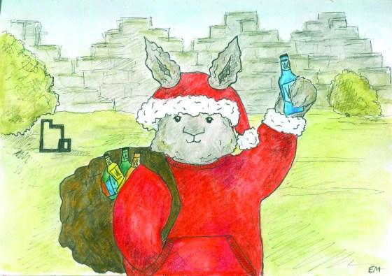 Concrete, Christmas, challenges