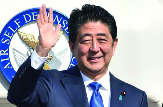 Abe romps to victory in Japanese election