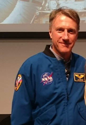 Astronaut's visit to campus out of this world