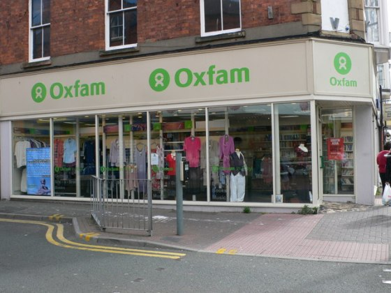 Don't turn your back on Oxfam