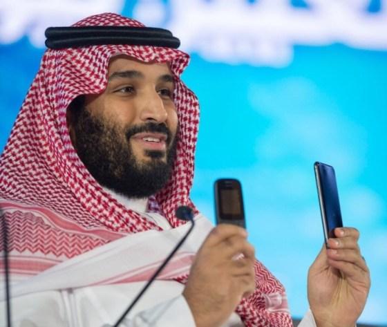 Prince bin Salman pays May a royal visit