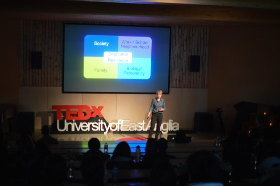 TED Talks take place in the Enterprise Centre