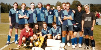 UEA Hockey Club, 1997. Image provided by Johnny Downer.