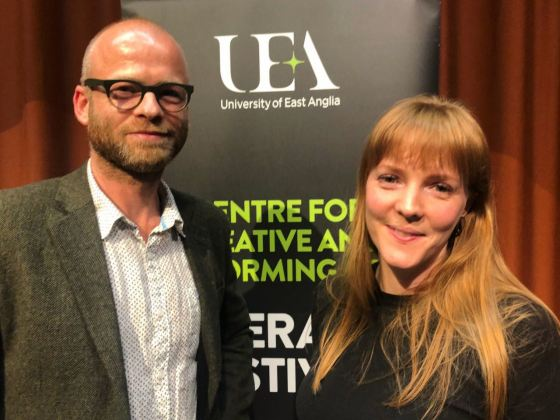 UEA Graduate Emma Healey on her latest novel: Whistle in The Dark