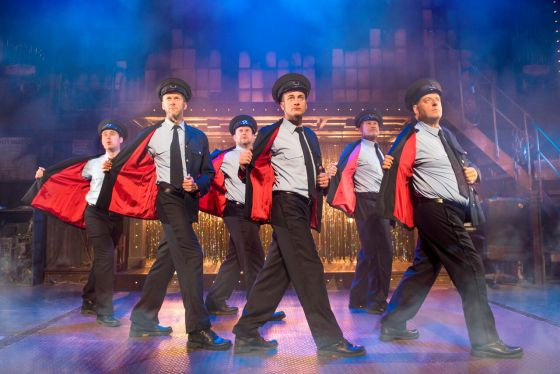 Interview with The Full Monty's James Redmond