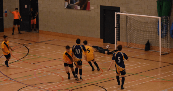 Happy New Year for UEA Futsal in league and cup