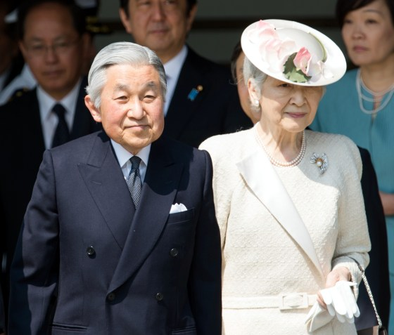 Akihito's unprecedented abdication