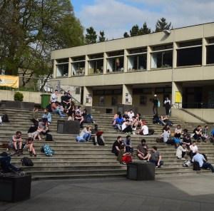 Bursaries UEA campus Square