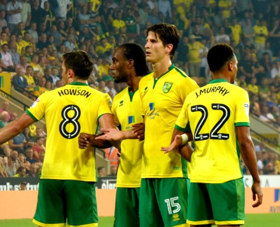 Norwich City Football Club promoted to the Premier League