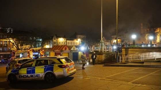 Norwich Market fire