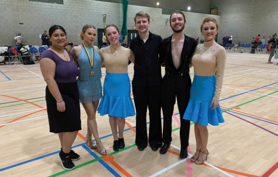 Ballroom and Latin Dance reach the finals at the UEA Friendly Competition