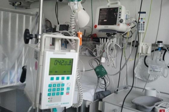 Pneumonia machine used for Coronavirus