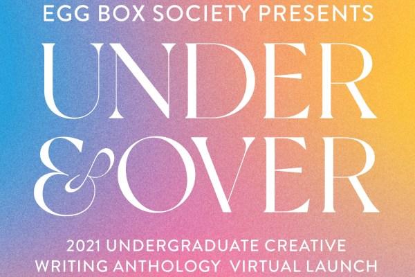 UEA's Undergraduate Creative Writing Anthology launching virtually on June 25th