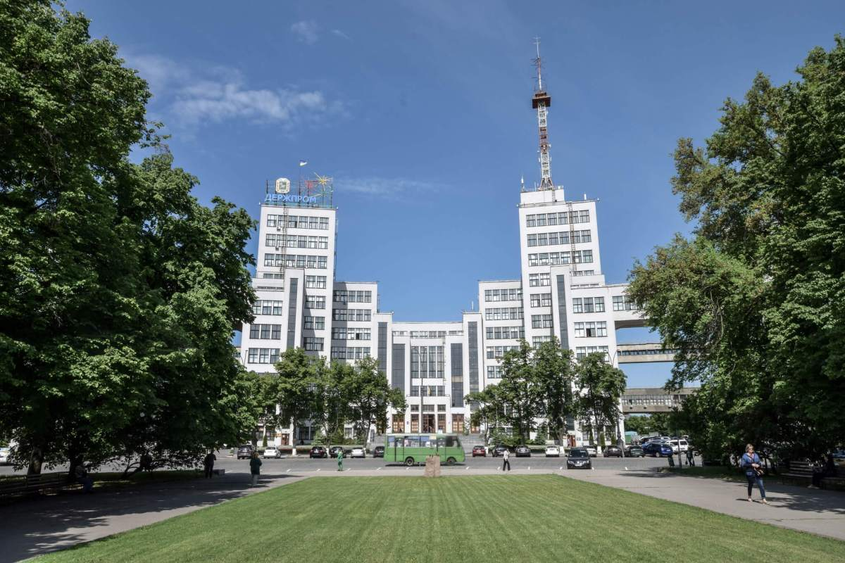 The Derzhprom in Kharkiv, Ukraine, and the Origin of the Soviet Skyscraper