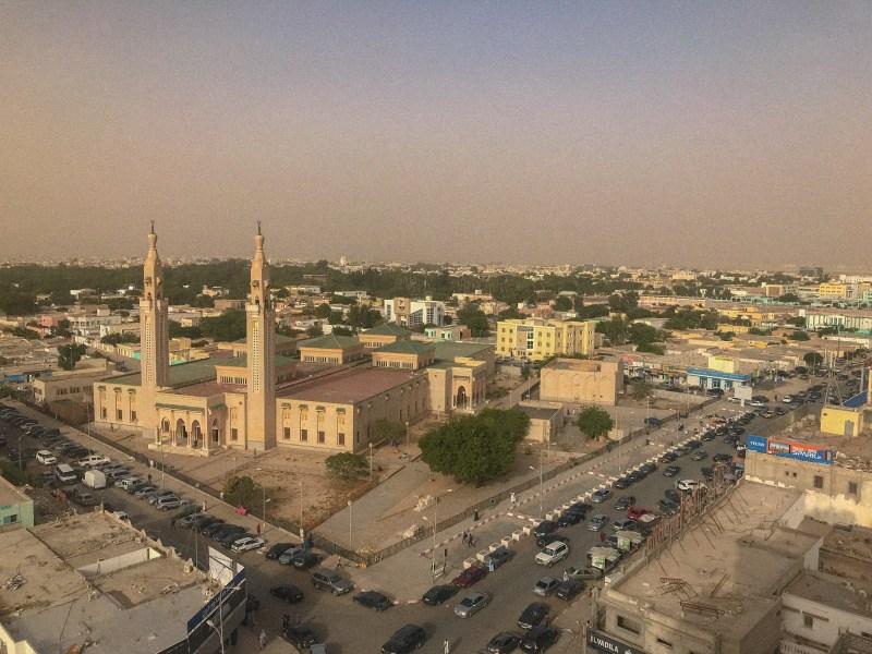 Hazy Nouakchott, Mauritania