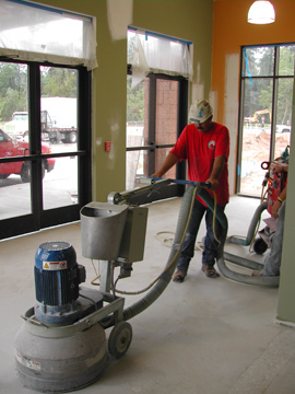 Concrete Cleaning Inc Houston TX Floor Surface